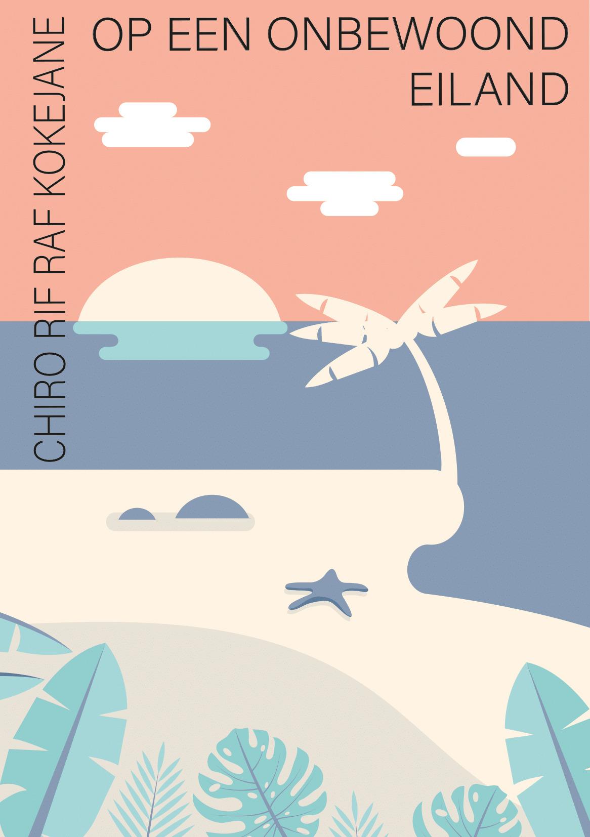 Op een onbewoond eiland Kamp Koekelare 2021 Chiro Rif-Raf Kokejane